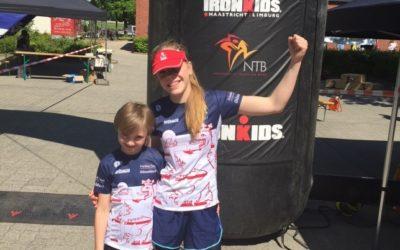 Freie Schwimmer Düsseldorf Tri Kids belegen Podiumsplätze in Waldfeucht und Aachen