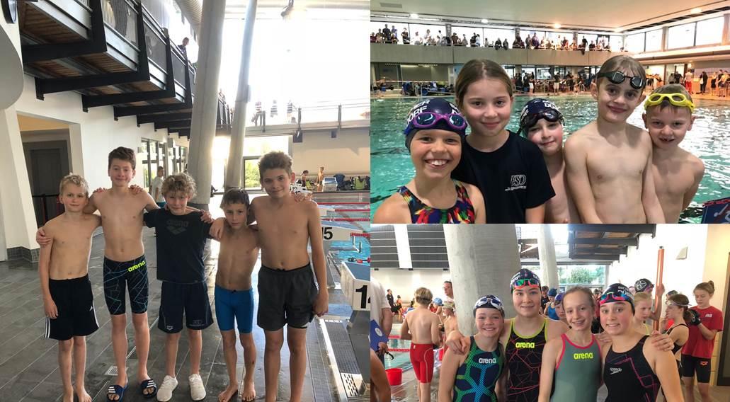 Freie Schwimmer Düsseldorf mit fünf Teams beim DMS-J 2018 Finale im Bezirk Rhein Wupper