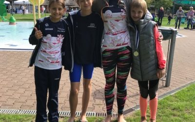Toller Saisonabschluss für die Freie Schwimmer Düsseldorf Tri Kids