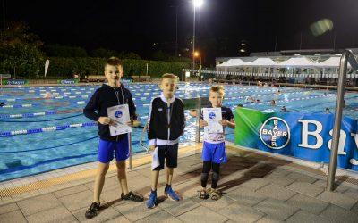 Freie Schwimmer beim 24h-Schwimmen in Dormagen