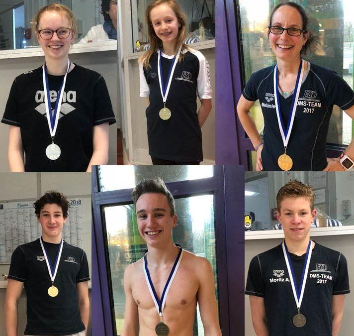 4 Titel für die Freien Schwimmer bei den Verbandsmeisterschaften lange Strecke 2018