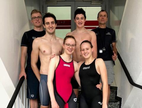 NRW Kurzbahnmeisterschaften mit 6 Teilnehmern der Freien Schwimmer Düsseldorf!