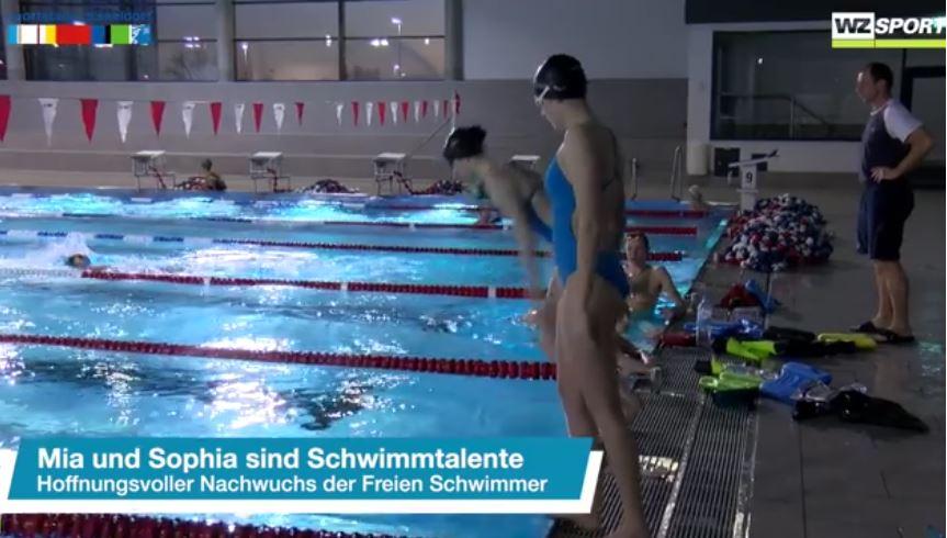 Mia und Sophia im Sportstadt Düsseldorf Interview