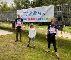 Tri Kids beim Swim + Run in Wolbeck erfolgreich